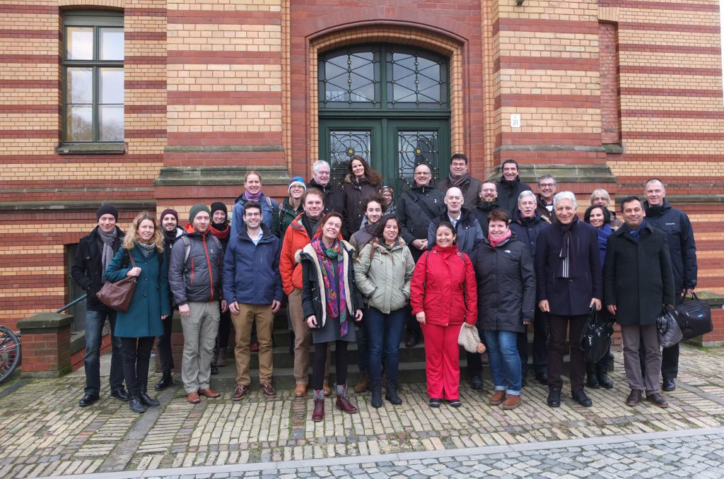 REFLECT project partners at the kick-off meeting in Potsdam.
